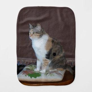 Calico Cat Burp Cloth