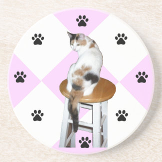 Calico Cat Coaster