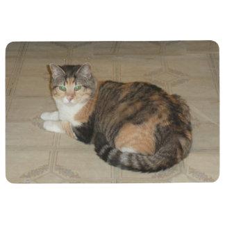 Calico Cat Floor Mat