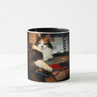 Calico Cat Got Your Mouse Coffee Mug