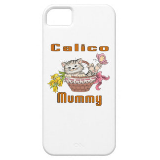 Calico Cat Mom iPhone 5 Case