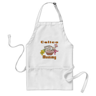 Calico Cat Mom Standard Apron