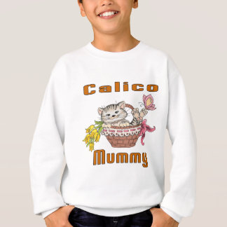 Calico Cat Mom Sweatshirt