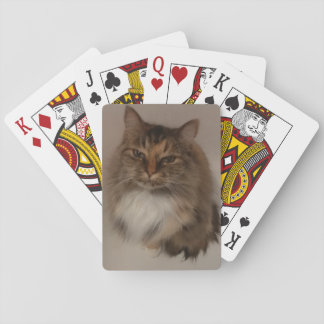 Calico Cat Playing Cards