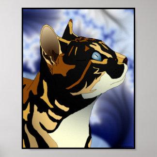 Calico Cat portfolio size poster