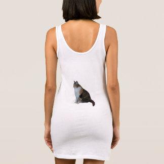 Calico Cat Sleeveless Dress