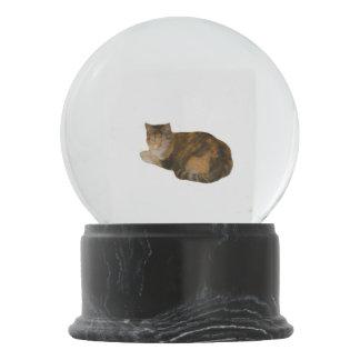 Calico Cat Snow Globe
