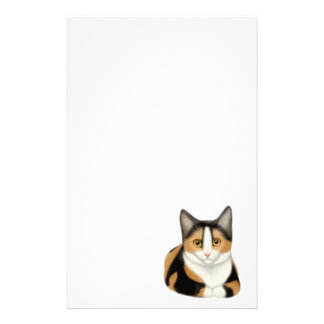 Calico Cat Stationery