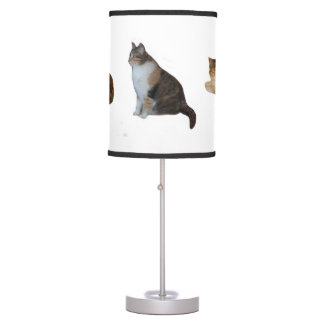 Calico Cat Table Lamp