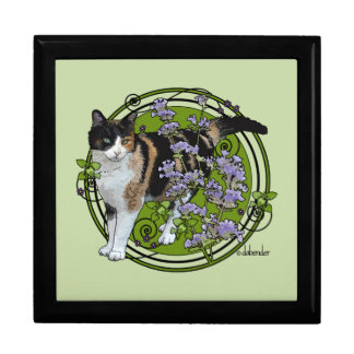 Calico Cat with Nepeta Gift Box