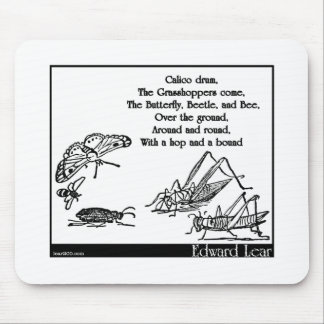 Calico drum mouse pads