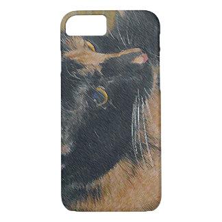 Calico Kitten Face iPhone 7 Case