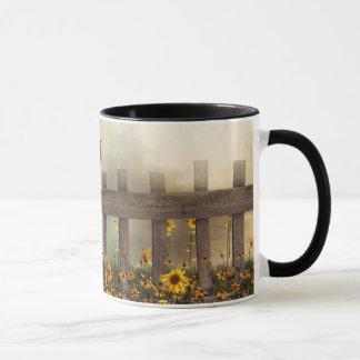 Calico kitty cat mug