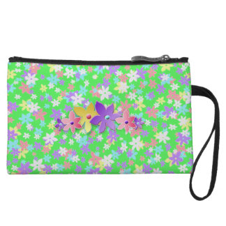 Calico Mini-Clutch - Touch of Sweet Country Wristlet