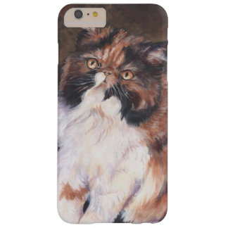 Calico Persian cat Barely There iPhone 6 Plus Case