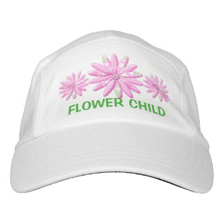 Calico Pink Daisy Hat