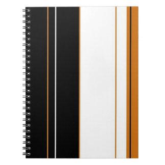 Calico Stripes Notebook