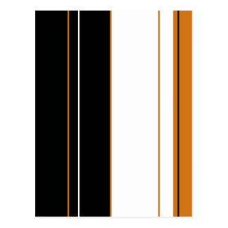 Calico Stripes Postcard
