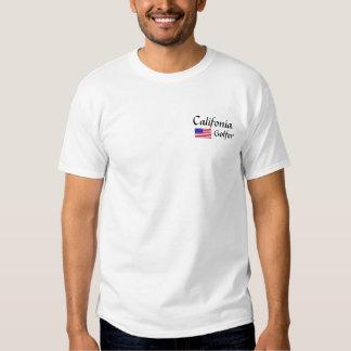 Califonia , Golfer Tee Shirts
