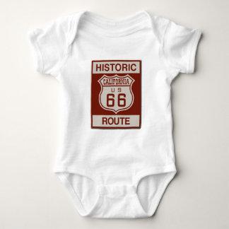 CALIFORNIA66 BABY BODYSUIT