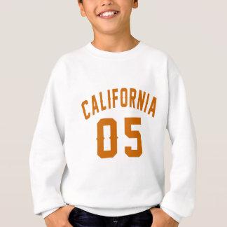 California 05 Birthday Designs Sweatshirt