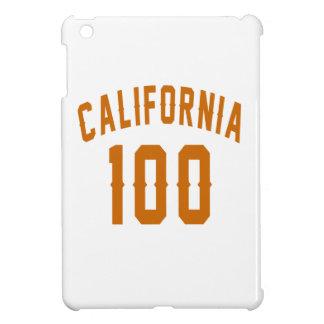 California 100 Birthday Designs iPad Mini Cover