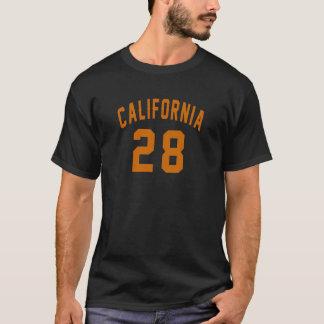 California 28 Birthday Designs T-Shirt
