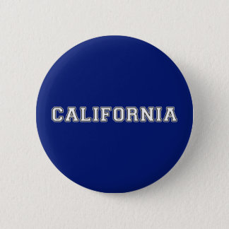 California 2 Inch Round Button