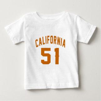 California 51Birthday Designs Baby T-Shirt