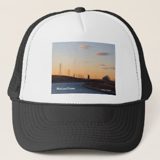 California Aqueduct Windmills Altamont Products Trucker Hat