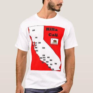 California Area Codes Tee