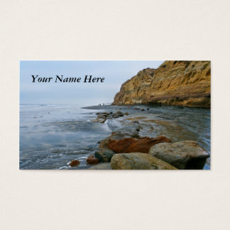 California Beach Business Card