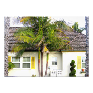 california beach house photo print