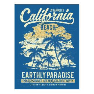 California Beach Living in Paradise Endless Summer Postcard