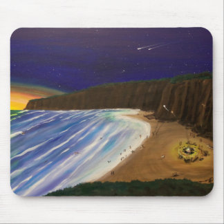California Beach Party Mouse Pad