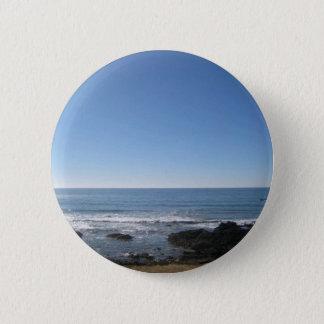 California Beach Seaside 2 Inch Round Button