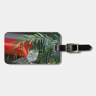California Beach Spa Bag Tag