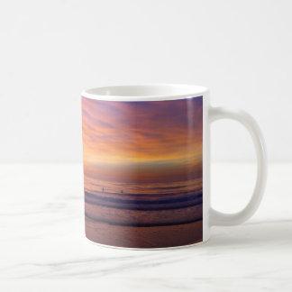 California Beach Sunset Mug