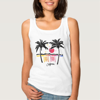 california beach tank top