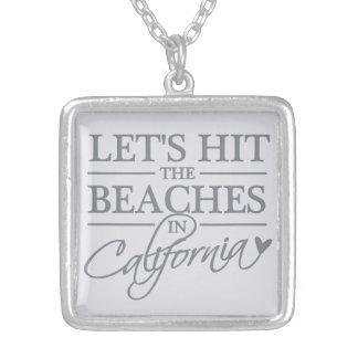 California Beaches necklace