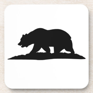 California Bear Drink Coaster