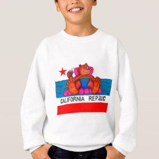 California Bear Feet Flag Sweatshirt