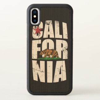 California Bear Flag iPhone X Case