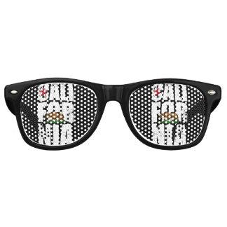 California Bear Flag Retro Sunglasses