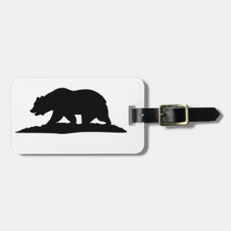 California Bear Luggage Tag
