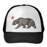 California bear STAR Mesh Hats