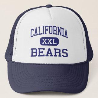 California Bears Middle Sacramento Trucker Hat