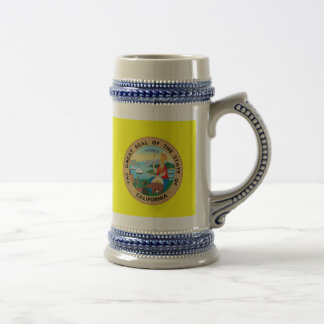 California* Beer Stein