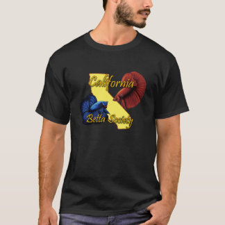 California Betta Society Black Tshirt