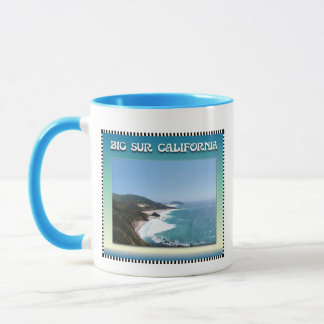 California Big Sur Ocean View II Mug